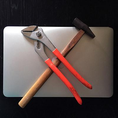 Macbook Air and Analog Tools