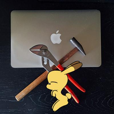 うさ犬が行く on Xcode