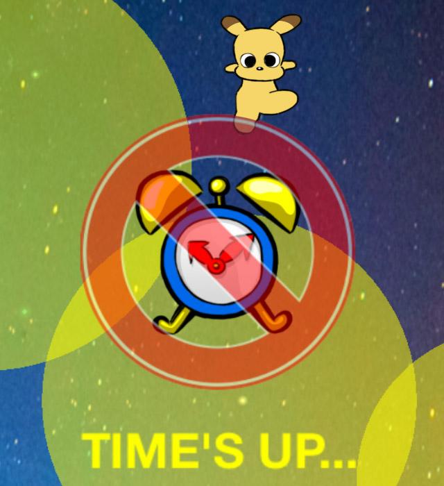 開発ゲームバルオキュには時間制限もある