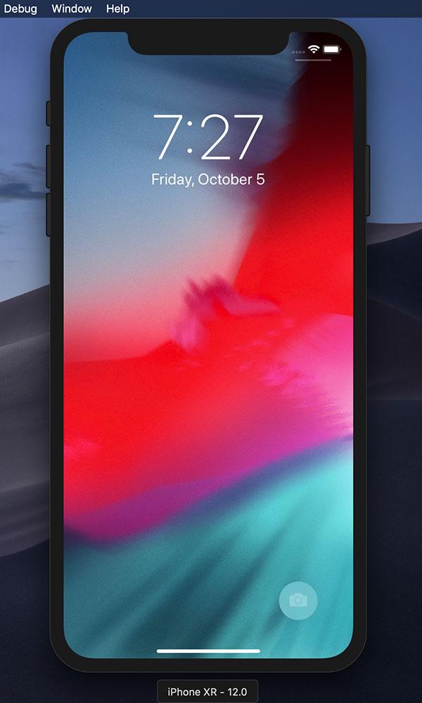 Mac開発環境の中では既に現役のiPhone XR